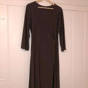 Ellen Parker wrap dress